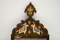Antique Persian Painted Wood Mirror (8 of 11)