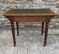 Antique Victorian Walnut Writing Table Desk (14 of 17)