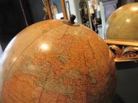 """1930's 12"""" Plaster Terrestrial Globe on Stand (2 of 8)"""