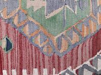 Kilim Covered Stool (6 of 8)