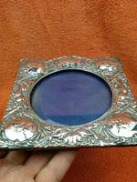 Antique Sterling Silver Reynolds Angels  Picture Frame with Bevelled Glass C1900 (5 of 12)