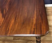 Good Quality Victorian Mahogany Dining table with additional Leaf (10 of 11)