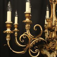 Florentine 12 Light Polychrome Antique Chandelier (5 of 10)