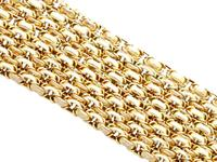 9ct Yellow Gold Longuard Chain - Antique c.1890 (3 of 12)