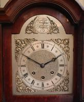 Westminster Chime Mahogany Grandmother Clock (7 of 12)