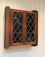 Oak Glazed Wall Cabinet (4 of 9)