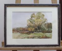 Watercolour Autumn in Wiltshire by Ronald Birch (4 of 10)