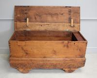 Antique Indian Teak Dowry Chest (5 of 8)