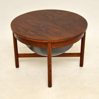 Danish Vintage Rosewood Coffee Table / Work Box (3 of 9)