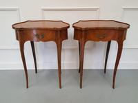 Pair of Kingwood Side Tables c.1930 (2 of 9)