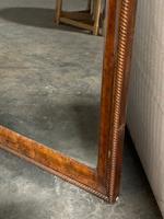 19th Century French Burr Walnut Wall Mirror (14 of 19)