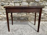 Antique Georgian Mahogany Fold Over Tea Table (17 of 27)