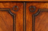 Regency Style 4 Door Breakfront Mahogany Bookcase (5 of 9)