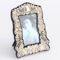Pierced & Embossed Silver Photograph Frame by Broadway & Co 1906 (3 of 9)