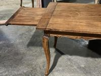 French Oak Farmhouse Kitchen Dining Table (3 of 18)