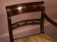 Good Set of 8 Regency Period Dining Chairs in Mahogany (13 of 13)