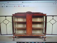 Astragal Display Cabinet. Victorian c.1880 (2 of 8)