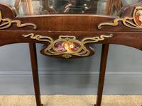 Art Nouveau Mahogany Vitrine (3 of 15)