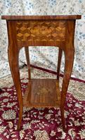 Pair of French Parquetry / Marquetry Side Tables (16 of 20)