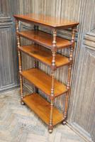 Antique Walnut Whatnot/ Shelves (5 of 6)