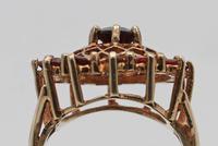 Vintage Gold & Garnet Dress Ring (2 of 3)