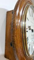 """Wonderful 12"""" English Fusee Dial Timepiece by Thomas Moore 1870 (4 of 9)"""