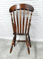 19th Century Lincolnshire Windsor Lathback Armchair (9 of 10)