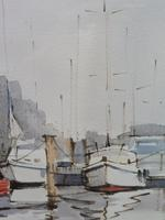 Watercolour The Moorings Listed Artist Diana Scott (5 of 10)