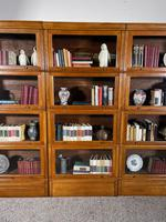 Three Stacking Bookcases In Light Oak Composed 4 Element-20th Century-france (3 of 11)