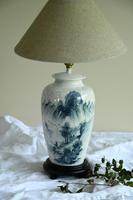 Oriental Lamp Blue & White (2 of 11)