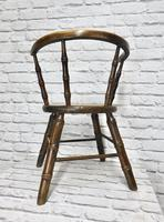Child's Windsor Armchair with Faux Bamboo Turning (5 of 8)