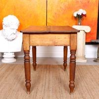 Desk Writing Table Victorian Pine (2 of 9)