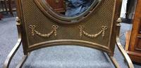 French Gilt Bronze Cheval Mirror (4 of 10)
