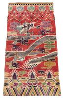 Antique Chinese Pillar Rug