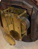 """Rare 8"""" Dial Clock Fusee Russell Dulwich (3 of 4)"""