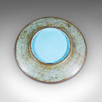 Antique Decorative Plate, Japanese, Cloisonne, Fruit, Serving Dish, Victorian (6 of 9)
