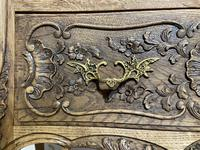 Stylish French Bleached Oak Commode Chest (9 of 20)