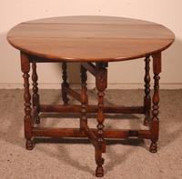 Gateleg Table in Oak -18th Century (5 of 11)