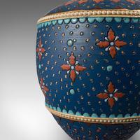 Pair of Antique Decorative Vases, German, Ceramic, Villeroy & Boch, Victorian (10 of 12)