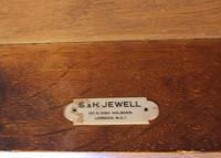 Antique Oak Partners Writing Desk (4 of 10)