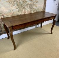 19th Century French Fruitwood Farmhouse Table (6 of 8)