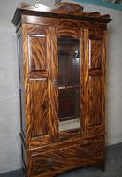 Edwardian Simulated Walnut Bedroom Suite (2 of 21)