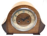 Art Deco Hat Shaped Mantel Clock – Striking 8-day Arched Top Mantle Clock (2 of 10)