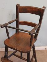 Antique Childs Windsor Highchair (9 of 12)