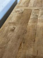 Enormous French Bleached Oak Farmhouse Dining Table (18 of 38)