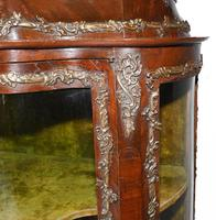 Antique Display Cabinet French Louis XVI Inlaid Bijouterie (4 of 10)