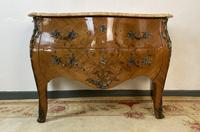 French Chest of Drawers Bombe Commode with Marble Top (3 of 12)
