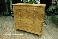 Fabulous & Very Large Old Victorian Pine Chest of Drawers (3 of 8)