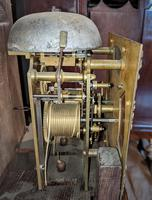 Early 20th Century Oak Granddaughter Clock (6 of 6)