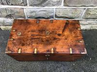 Antique Anglo Indian Brass Bound Trunk (3 of 11)